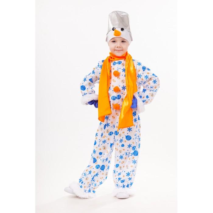 Картинка для Пуговка Карнавальный костюм Снеговик Снежок Русские сказки