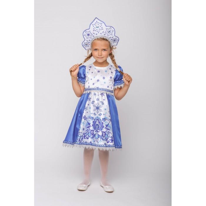 Пуговка Карнавальный костюм Снегурочка Русские сказки фото