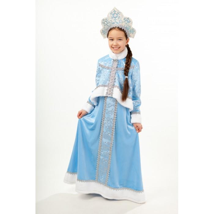 Картинка для Пуговка Карнавальный костюм Снегурочка Танюша Новогодняя сказка