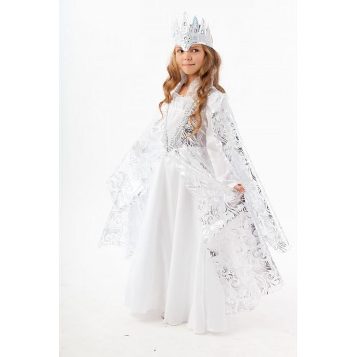 Картинка для Пуговка Карнавальный костюм Снежная Королева Сказочный маскарад