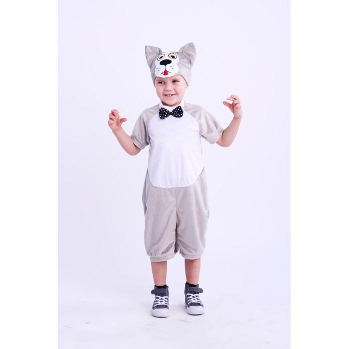 Купить Карнавальные костюмы, Пуговка Карнавальный костюм Волк Костик Плюшки-Игрушки