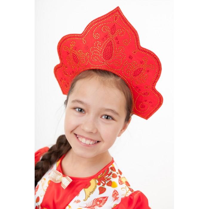 Фото - Карнавальные костюмы Пуговка Кокошник Красна-девица русский народный кокошник зимние узоры 5409