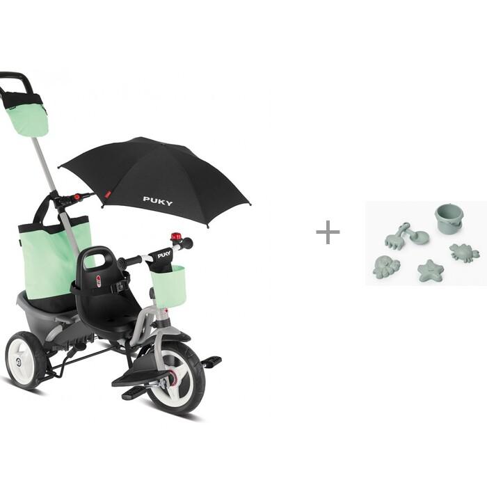 Купить Трехколесные велосипеды, Велосипед трехколесный Puky Ceety Comfort с набором световозвращающих наклеек Cova Сота Sport
