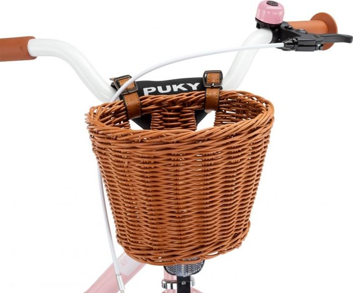 Фото - Аксессуары для велосипедов и самокатов Puky Эластичная плетеная корзина Corb M для 12'' велосипедов и беговелов аксессуары для велосипедов и самокатов puky сумка передняя lt 2