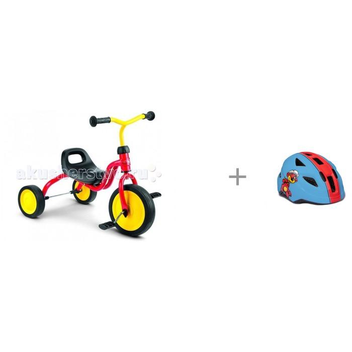 Купить Шлемы и защита, Puky Шлем 9594 с трехколесным велосипедом Fitsch