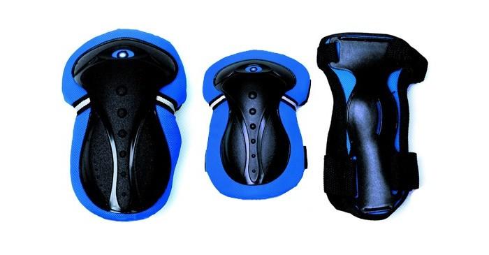Детский транспорт , Шлемы и защита Puky Защита комплект Junior Set арт: 386429 -  Шлемы и защита