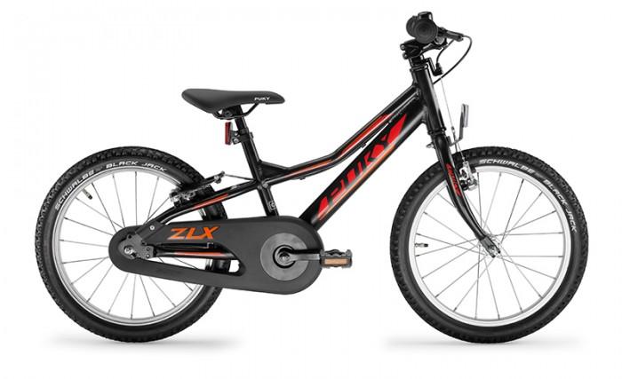 Велосипед двухколесный Puky ZLX 18-1F AluДвухколесные велосипеды<br>Двухколесный велосипед Puky ZLX 18-1F Alu -спортивный сверхлегкий алюминиевый велосипед с полным комплектом оборудования и очень легким ходом педалей для детей от 4 до 6 лет.     Двухколесные велосипеды Puky производятся только в Германии с 1949 года, чем обеспечивается их гарантированно высокое качество. Их дизайн и эргономика продуманы до мелочей, поэтому ребенку легче всего начать обучение на Puky.  ОСОБЕННОСТИ МОДЕЛИ  Puky ZLX – новая сверхмодная спортивная модель. Рама, вилка и педали двухколесного велосипеда Puky ZLX 18-1F Alu выполнены из алюминия, что делает велосипед сверхлегким. Причем, вес 8,9 кг указан вместе с защитой цепи, педалями и светоотражателями.   1F означает Free wheel, то есть педали свободно крутятся и вперед, и назад, в отличие от других моделей велосипедов Puky.    Рама окрашена с помощью порошковой технологии, что гарантирует повышенную износоустойчивость. Такому покрытию не страшны яркий солнечный свет и падения на асфальт. Сварные швы на раме аккуратные и надежные, что обеспечивает устойчивость к нагрузкам во время катания.     Эргономичное мягкое седло в спортивном стиле оснащено ручкой для поддержки или удобной переноски велосипеда.     Колеса, рулевая вилка и педали велосипеда содержат высококачественные шарикоподшипники, что гарантирует отличную управляемость, легкий ход педалей и быстрое обучение. Мы не рекомендуем использовать приставные колеса, поскольку велосипеды Puky настолько легкие, что ребенок может научиться кататься за 1-2 прогулки без дополнительных колес. При желании приставные колеса Puky ST ZL 9425 можно приобрести отдельно.     У двухколесного велосипеда Puky ZLX 18-1F Alu колеса диаметром 18'' с премиальными пневматическими шинами Schwalbe® Black Jack и алюминиевыми дисками.    Немецкие конструкторы особое внимание уделяют безопасности. В комплект Puky для безопасной езды на велосипеде входит защита цепи, передний и задний светоотражатели, безопасные