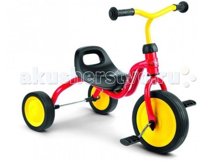 Велосипед трехколесный Puky FitschFitschPuky Fitsch - первый трехколесный велосипед для малышей от 1.5 до 2.5 лет для самостоятельного катания!  Материалы: металлический корпус сделан в соответствии с европейскими требованиями стандарта, качества и безопасности для детских товаров высокое качество окраски  Характеристики: предназначен для катания детей от 1.5 до 2.5 лет, на рост 80 до 92 см максимальная устойчивость и безопасность легкий вес анатомическое сиденье с ручкой для переноски легкий ход колес широкая колесная база для устойчивости (40 см) безопасные ручки на руле максимальная нагрузка - 20 кг ключ для сборки в комплект не входит (приобретается отдельно)  Общие размеры (вхдхш)  24х62х40 см Размеры колес - диаметр  22/15 см Вес -  3.3 кг<br>