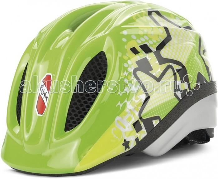 Puky Шлем S/M (46-54)Шлем S/M (46-54)Стильный шлем Puky с удобной регулировкой по голове. Позаботьтесь о защите своего ребенка!  Характеристики: Размер 46-54 см Облегченный пластик Вентиляционные решетки с сеточкой для активного воздухообмена Регулировка размера сзади: колесико со светоотражателем Мягкие вставки-подушечки для головы сзади, по периметру и под застежкой на подбородке Удобная регулируемая застежка на подбородке Соответствует нормам CE EN 1078<br>