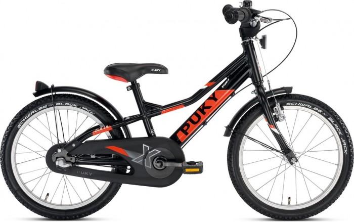 Велосипед двухколесный Puky ZL 18-3 AluZL 18-3 AluВелосипед двухколесный Puky ZL 18-3 Alu - это спортивный сверхлегкий двухколесный велосипед с 3 скоростями и полным комплектом оборудования  Особенности: Рама, вилка и педали выполнены из алюминия, что делает велосипед сверхлегким.  Вес 9,4 кг указан вместе с крыльями, защитой цепи, педалями и светоотражателями.  Велосипед оснащен 3-х скоростным переключателем передач Shimano Nexus 3, ручным и педальным тормозом.  Рама окрашена с помощью порошковой технологии, что гарантирует повышенную износоустойчивость. Такому покрытию не страшны яркий солнечный свет и падения на асфальт.  Сварные швы на раме аккуратные и надежные, что обеспечивает устойчивость к нагрузкам во время катания.  Эргономичное мягкое седло в спортивном стиле оснащено ручкой для поддержки или удобной переноски велосипеда.  Колеса, рулевая вилка и педали велосипеда содержат высококачественные шарикоподшипники, что гарантирует отличную управляемость, легкий ход педалей и быстрое обучение.  У двухколесного велосипеда колеса диаметром 18'' с премиальными пневматическими шинами Schwalbe Black Jack.  Колеса закрыты крыльями, оберегающими одежду ребенка от брызг с колес. В колесах легкие алюминиевые диски. Велосипед укомплектован подставкой для парковки. К велосипеду Puky ничего не нужно покупать отдельно, поскольку каждый велосипед имеет максимальное оснащение. Важно, что вес велосипеда указывается вместе со всем дополнительным оборудованием. На рост от 110 см, длину ноги от 48 см Регулировка положения седла 53-62 см Регулировка руля по высоте на 8,5 см 3-х скоростной переключатель передач Shimano Nexus 3  Колеса, рулевое управление и педали на шарикоподшипниках Низкая посадка Высота рамы 28 см Подставка для парковки Регулируемый ручной тормоз Комплект Puky для безопасной езды:  Защита цепи Пластиковая окантовка на крыле переднего колеса Передний и задний светоотражатель Air Bag (подушечка безопасности) на руле Звонок Рукоятки с защитной окантовкой<br>