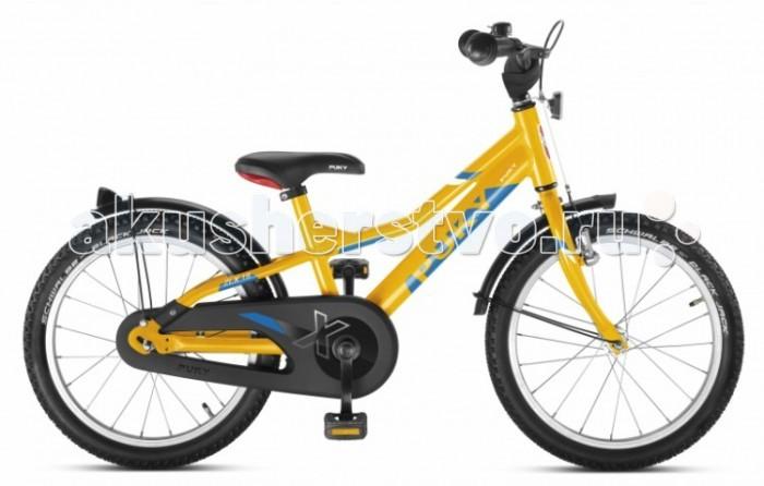 Велосипед двухколесный Puky ZLX 18 AluZLX 18 AluВелосипед двухколесный Puky ZLX 18 Alu – спортивный сверхлегкий алюминиевый велосипед с полным комплектом оборудования и очень легким ходом педалей для детей от 4 до 6 лет.  Двухколесные велосипеды Puky производятся только в Германии с 1949 года, чем обеспечивается их гарантированно высокое качество. Их дизайн и эргономика продуманы до мелочей, поэтому ребенку легче всего начать обучение на Puky.  Особенности: Puky ZLX – новая сверхмодная спортивная модель. Рама, вилка и педали двухколесного велосипеда Puky ZLX 18 Alu выполнены из алюминия, что делает велосипед сверхлегким. Причем, вес 9,4 кг указан вместе с крыльями, защитой цепи, педалями и светоотражателями.  Рама окрашена с помощью порошковой технологии, что гарантирует повышенную износоустойчивость. Такому покрытию не страшны яркий солнечный свет и падения на асфальт. Сварные швы на раме аккуратные и надежные, что обеспечивает устойчивость к нагрузкам во время катания.  Эргономичное мягкое седло в спортивном стиле оснащено ручкой для поддержки или удобной переноски велосипеда.  Колеса, рулевая вилка и педали велосипеда содержат высококачественные шарикоподшипники, что гарантирует отличную управляемость, легкий ход педалей и быстрое обучение. Мы не рекомендуем использовать приставные колеса, поскольку велосипеды Puky настолько легкие, что ребенок может научиться кататься за 1-2 прогулки без дополнительных колес. При желании приставные колеса Puky ST ZL 9625 можно приобрести отдельно.  У двухколесного велосипеда Puky ZLX 18 Alu колеса диаметром 18'' с премиальными пневматическими шинами Schwalbe® Black Jack. Колеса закрыты крыльями, оберегающими одежду ребенка от брызг с колес. В колесах легкие алюминиевые диски. Немецкие конструкторы особое внимание уделяют безопасности. В комплект Puky для безопасной езды на велосипеде входит защита цепи, пластиковая окантовка переднего крыла SKS, передний и задний светоотражатели, безопасные грипсы и окантовка руля, стильный мета
