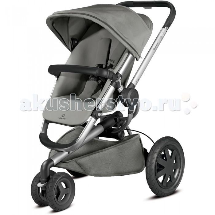 Прогулочная коляска Quinny Buzz Xtra 3Buzz Xtra 3Детская прогулочная трехколесная коляска Quinny Bazz Xtra 3 очень комфортная и удобная в использовании, а также придется по вкусу Вашему малышу. Коляска от производителя Quinny имеет светоотражающие рефлекторы, удобную регулируемую ручку под рост родителей, складывается одним нажатием на кнопку.   С детской прогулочной коляской Quinny Bazz Xtra 3 приятно ни только совершать прогулки с малышом, но и совершать походы в магазин т.к у коляски имеется просторная корзина, которая вмещает в себя до 5 кг. А для слишком активных детей предусмотренные 5-ти точечные ремни безопасности, тормоза детской коляски Quinny Bazz Xtra 3 приводятся в действие в одно нажатия ногой.   С помощью адаптеров на шасси коляски можно устанавливать люльки Quinny, для совсем маленьких и детские автокресла Maxi-Cosi. Также спинка прогулочной коляски Quinny Bazz Xtra 3 раскладывается в положение лежа, что очень удобно во время прогулок если Вашему ребенку пора отдыхать.  Новейшая разработка от компании Quinny – модель 2015 года Quinny Buzz Xtra 3 новая детская трехколесная прогулочная коляска предназначена с 6 месяцев до 4-х лет, классическая, постоянно модернизированная с каждым годом модель. Данная модель очень понравится Вашему малышу, своим комфортом, безопасностью и очень модным дизайном, также можно устанавливать на шасси Bazz Xtra 3 детское автокресло Maxi-Cosi и люльку для младенцев Carrycot, Foldable Carrycot.  Характеристики: Трехколесная прогулочная коляска для детей от 6 до 4-х лет Детская коляска имеет 3 положения спинки, съемный передний поручень, съемный капюшон и регулируемую подножку Прогулочная коляска выполнена с 5-ти точечными ремнями безопасности Материал не продуваемый и не промокающий, съемный и легко стирающийся Эргономичная ручка регулируются в 4 положения Передние колеса полиуретановые, а задние резиновые, которые по необходимости можно надуть Прогулочный блок устанавливается по ходу движения от мамы, также против движения ли