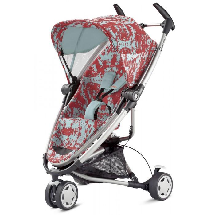 Прогулочная коляска Quinny Zapp XtraZapp XtraПрогулочная коляска Quinny Zapp Xtra - это лучшее решение для мобильных родителей. Эта детская коляска прекрасно подойдет от рождения, она полностью откидывается в горизонтальное положение, так же при необходимости пока малыш маленький вы можете расположить его лицом к себе. Если докупить автомобильное кресло компании Maxi-Cosi категории 0+(0-13кг) и установить его на шасси вы обретете, настоящую дорожную систему. Управлять и маневрировать коляской Quinny Zapp Xtra одно удовольствие, а все благодаря удачной конструкции рамы и переднему поворотному колесу. Не стесняйтесь взять Quinny Zapp Xtra в долгосрочные поездки, коляска невероятно компактно складывается, и занимает очень мало места.  Особенности: Подходит для детей с рождения до 3-4 лет(до 20кг) Возможна установка автомобильного кресла категории 0+ фирмы Maxi-Cosi Прогулочное сиденье имеет три фиксированных положения,включая горизонтальное Прогулочное сиденье устанавливается против,и по ходу движения Прогулочное сиденья оснащено съемным поручнем для рук Ребенок крепится внутри сиденья при помощи пятиточечных ремней безопасности(с мягкими накладками) Рама складывается и раскладывается одним движением Переднее колесо поворотное,возможна фиксация Задние колеса на подшипниках,блокируется стояночным тормозом.  Комплектация: Прогулочное сиденье Силиконовый дождевик Адаптеры для установки автомобильного кресла 0+ Корзина для покупок.  Размеры и вес: Вес с сиденьем: 8.5 кг Вес без сиденья: 6.5 кг Высота: 106 см Ширина колес: 59 см Длина: 81 см.<br>