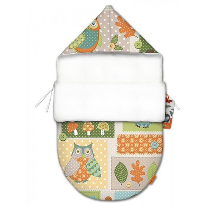 QuQuBaby Конверт для новорожденного Мудрая Сова mini (лето)