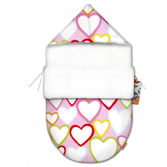 QuQuBaby Конверт для новорожденного Сердечки mini (лето)