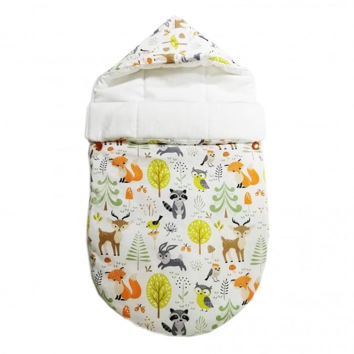 Купить Конверты для новорожденных, QuQuBaby Конверт мини летний Сказочный лес