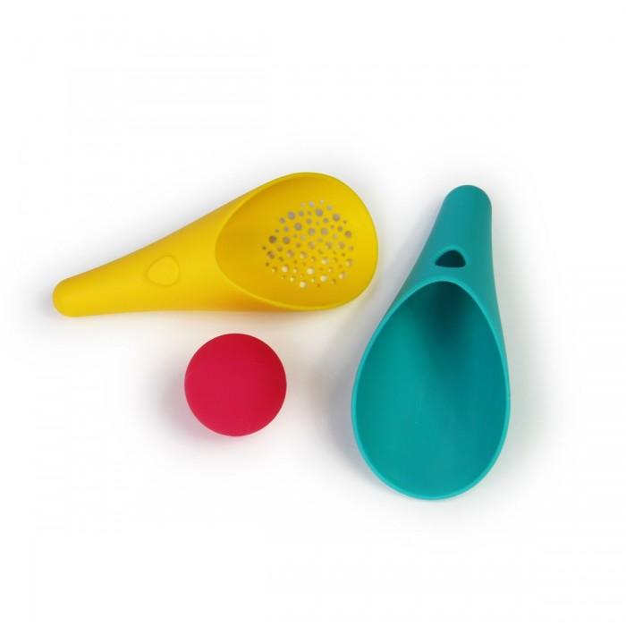 Игрушки в песочницу Quut Набор совочков и мячик Cuppi игрушка для песка и снега quut triplet розовая