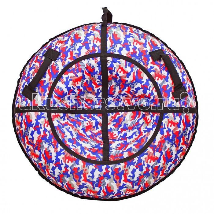 Зимние товары , Тюбинги R-Toys Камуфляж Синий/Красный арт: 404874 -  Тюбинги