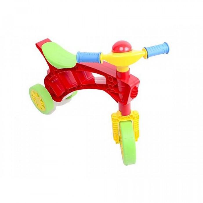 Беговел R-Toys Каталка Ролоцикл с клаксоном фото