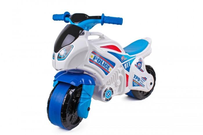 Каталки R-Toys мотоцикл беговел Полиция 911 каталка толокар orion toys мотоцикл 2 х колесный 501 зеленый