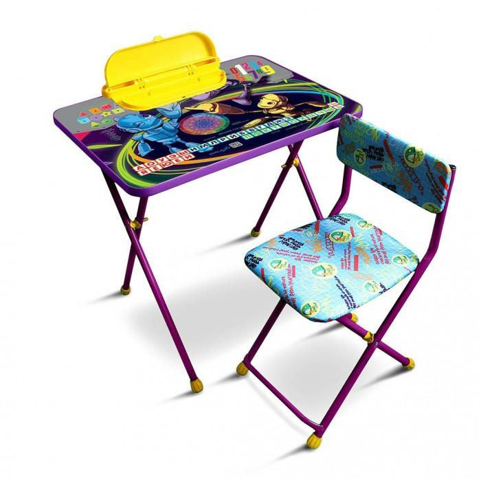 Детские столы и стулья R-Toys Комплект детской мебели Роботы детские столы и стулья фея комплект детской мебели досуг 301