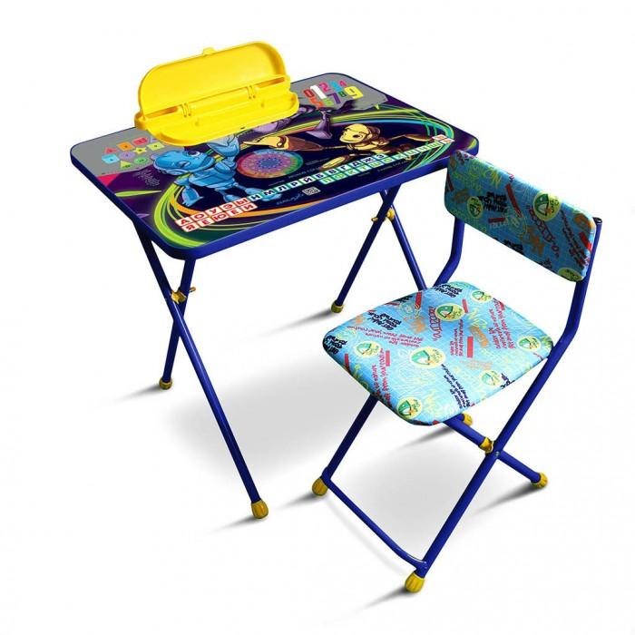 Детские столы и стулья R-Toys Комплект детской мебели Роботы