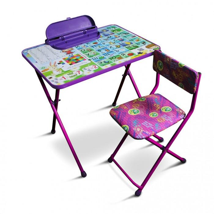 Детские столы и стулья R-Toys Комплект детской мебели Умняшки первоклашки