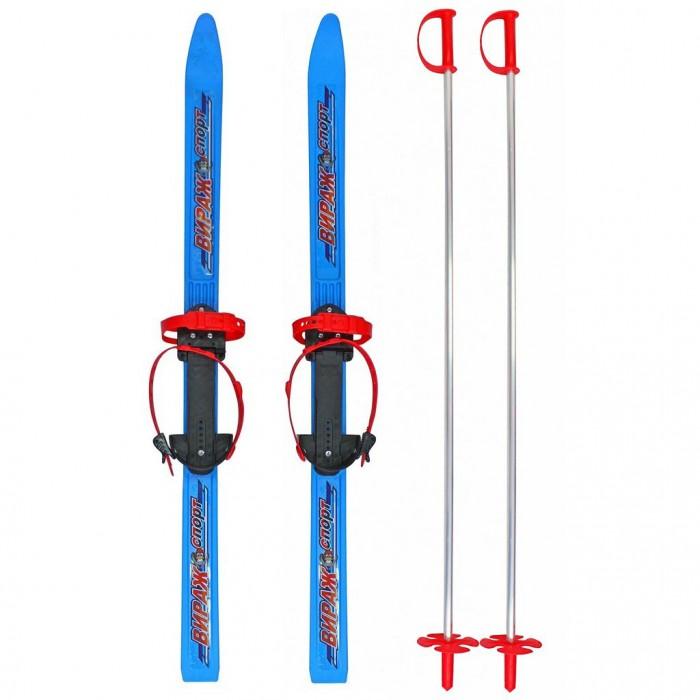 Ледовые коньки и лыжи Вираж-спорт Лыжи детские Пингвин, Ледовые коньки и лыжи - артикул:405404
