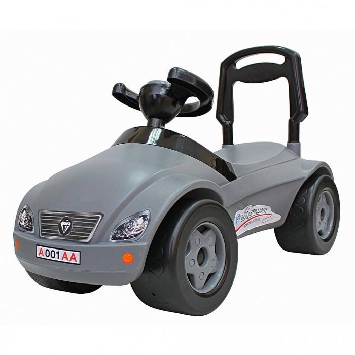 Каталки R-Toys Машинка Мерсик с клаксоном каталка машинка rich toys джипик police пластик от 8 месяцев с клаксоном красный ор105