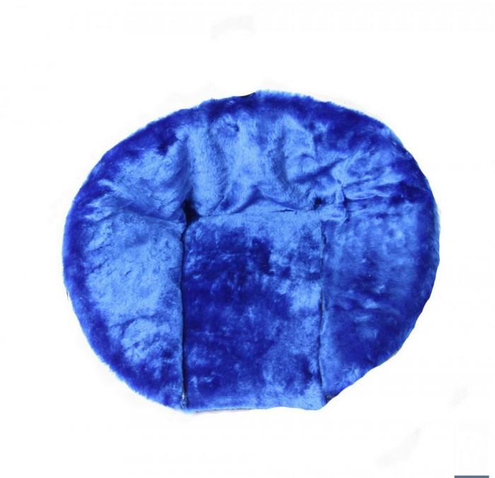 вкладыши для санок Вкладыши для санок R-Toys Матрасик для санок меховой короткий