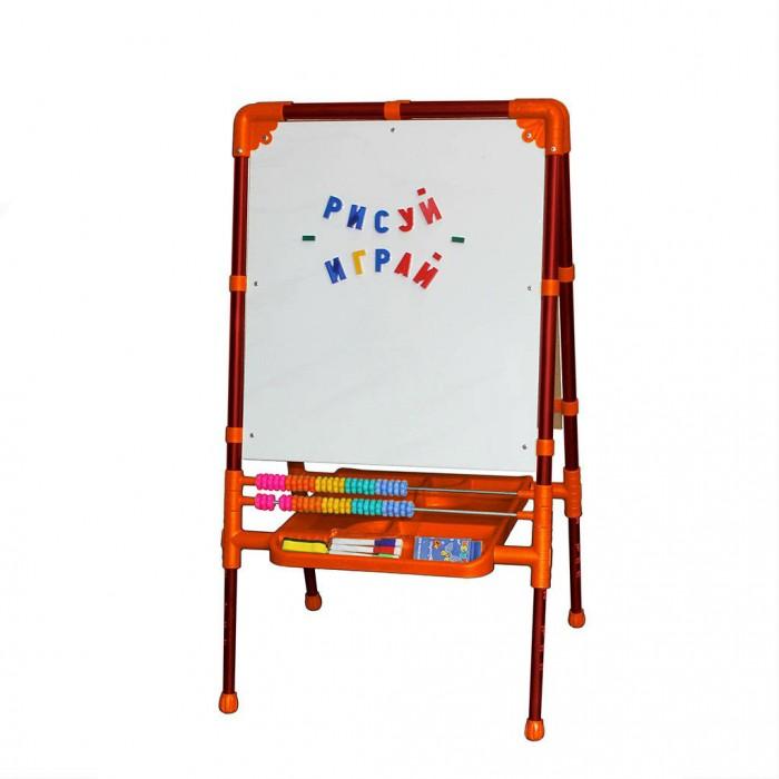 Доски и мольберты R-Toys Мольберт Вырастайка мольберт д детей со счетами оранжевый