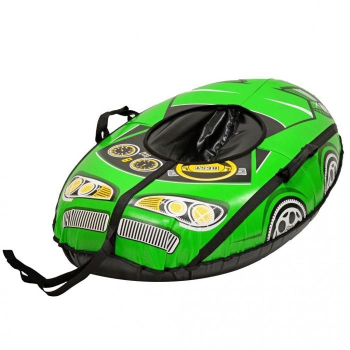 Купить Тюбинги, Тюбинг R-Toys Надувные санки овальные Машинка Best Racer