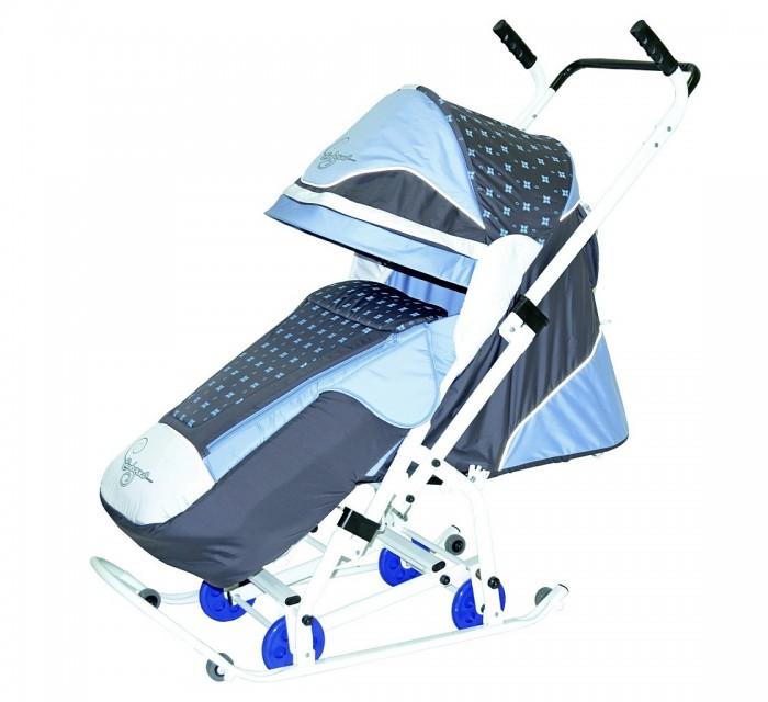 Картинка для Санки-коляска R-Toys Скользяшки Мозаика