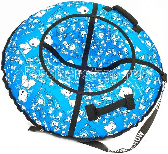 Зимние товары , Тюбинги R-Toys Собачки на голубом арт: 404699 -  Тюбинги