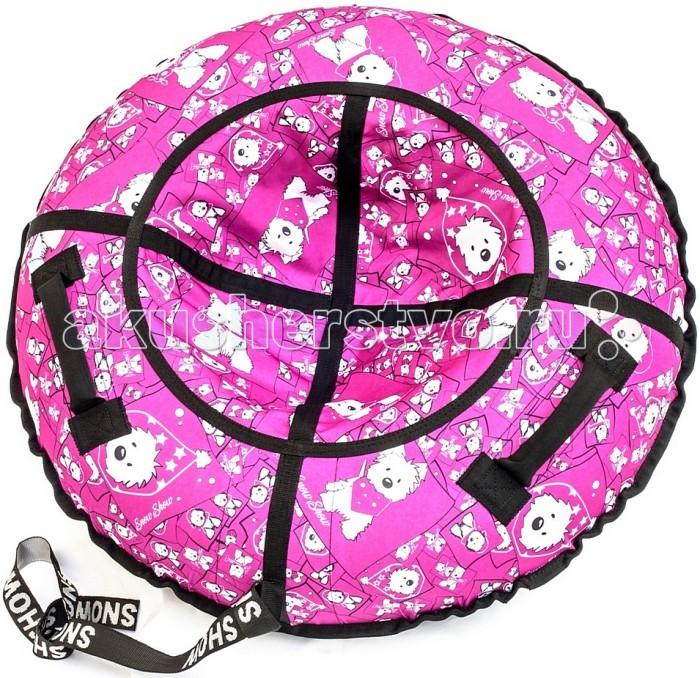 Зимние товары , Тюбинги R-Toys Собачки на розовом арт: 404714 -  Тюбинги