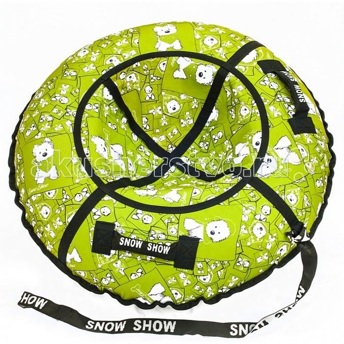 Зимние товары , Тюбинги R-Toys Собачки на салатовом арт: 404724 -  Тюбинги