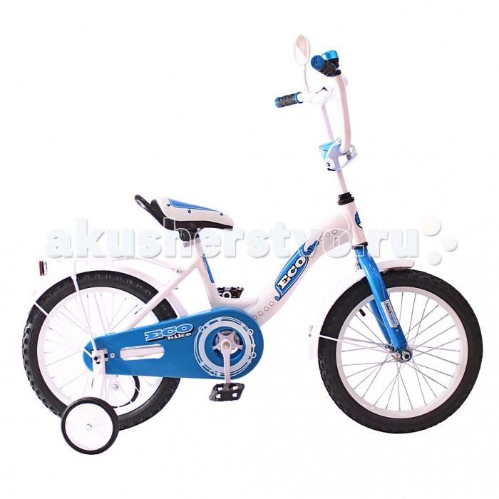 Велосипед двухколесный R-Toys Aluminium BA Ecobike 14Aluminium BA Ecobike 14Двухколесный велосипед Aluminium BA Ecobike 14 с боковыми колесами на усиленных кронштейнах. Ребенку проще привыкнуть к габаритам двухколесной модели, если она имеет дополнительные колесики для устойчивости. Когда рулевое управление будет доведено до совершенства, можно переходить к тренировкам поддержания равновесия на велосипеде без боковых колес.  Особенности велосипеда: прочная алюминиевая рама стойкое антикоррозийное покрытие рамы удлиненные стальные крылья обод стальной руль ВМХ, по центру - мягкая накладка съемные боковые колеса с жесткой прорезиненной поверхностью усиленный кронштейн боковых колес надувные 14-дюймовые колеса на подшипниках количество скоростей - 1 защитный кожух на велоцепи тормоз задний ножной багажник-хром зеркало заднего вида на гибкой ножке звонок на руле<br>