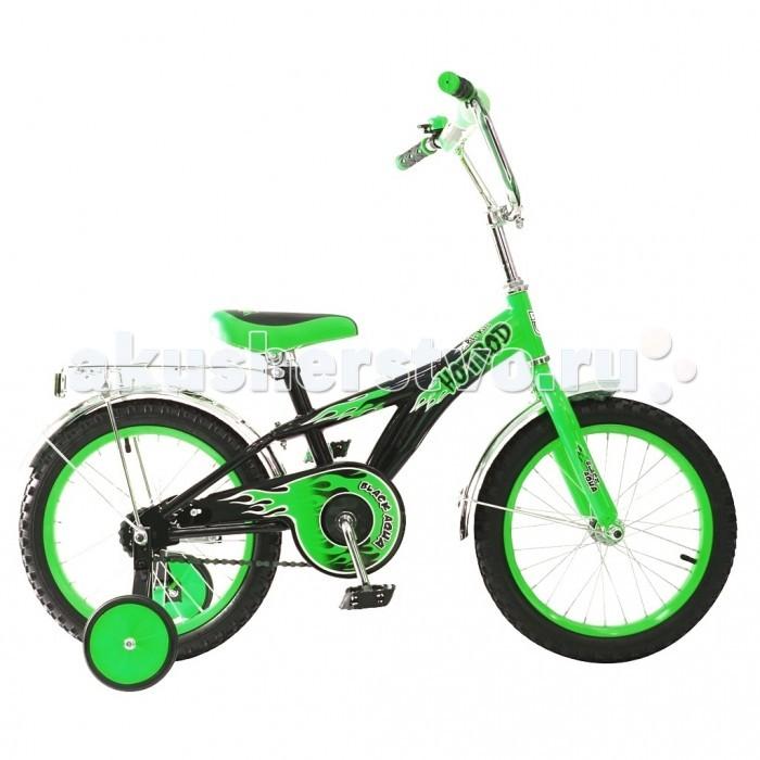 Велосипед двухколесный R-Toys BA Hot-Rod 14BA Hot-Rod 14Двухколесный велосипед BA Hot-Rod 14 с боковыми колесами на усиленных кронштейнах. Ребенку проще привыкнуть к габаритам двухколесной модели, если она имеет дополнительные колесики для устойчивости. Когда рулевое управление будет доведено до совершенства, можно переходить к тренировкам поддержания равновесия на велосипеде без боковых колес.  Особенности велосипеда: прочная стальная рама стойкое антикоррозийное покрытие рамы удлиненные стальные крылья обод стальной руль ВМХ, по центру - мягкая накладка съемные боковые колеса с жесткой прорезиненной поверхностью усиленный кронштейн боковых колес надувные 14-дюймовые колеса на подшипниках количество скоростей - 1 защитный кожух на велоцепи тормоз задний ножной багажник-хром зеркало заднего вида на гибкой ножке звонок на руле<br>