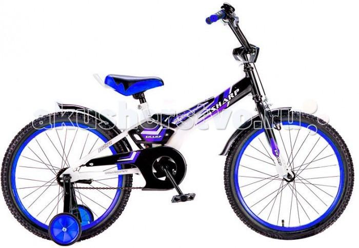 Велосипед двухколесный R-Toys BA Sharp 16BA Sharp 16Двухколесный велосипед BA Sharp 16 с боковыми колесами на усиленных кронштейнах. Ребенку проще привыкнуть к габаритам двухколесной модели, если она имеет дополнительные колесики для устойчивости. Когда рулевое управление будет доведено до совершенства, можно переходить к тренировкам поддержания равновесия на велосипеде без боковых колес.  Особенности велосипеда: прочная стальная рама стойкое антикоррозийное покрытие рамы удлиненные стальные крылья обод стальной руль ВМХ, по центру - мягкая накладка съемные боковые колеса с жесткой прорезиненной поверхностью усиленный кронштейн боковых колес надувные 16-дюймовые колеса на подшипниках количество скоростей - 1 защитный кожух на велоцепи тормоз передний ручной багажник-хром звонок на руле<br>