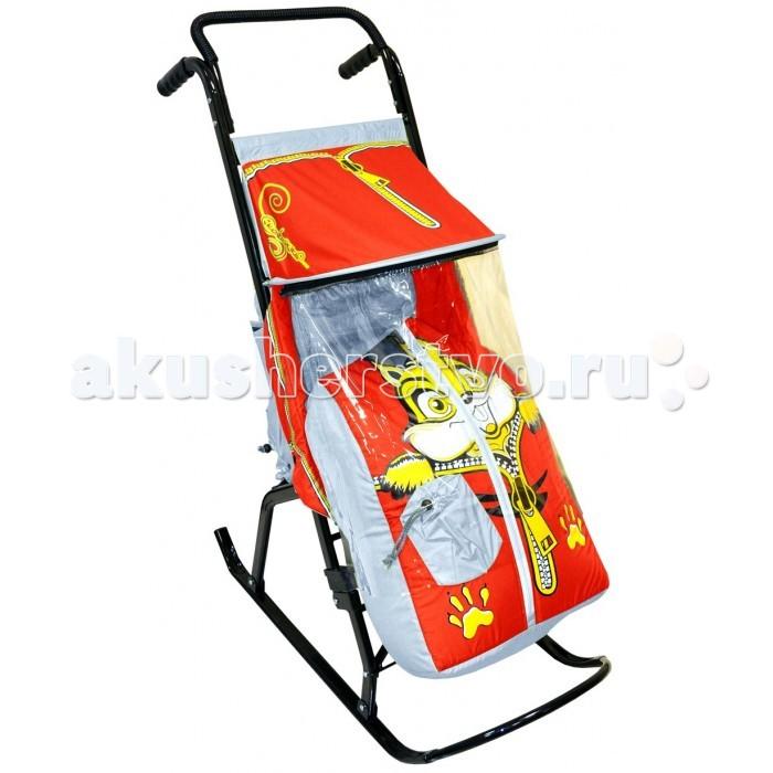 санки коляски Санки-коляски R-Toys Снегурочка 2-Р Бельчонок