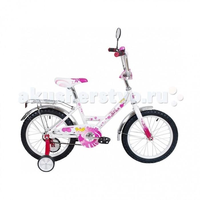 Велосипед двухколесный R-Toys Black Aqua Фея 12Black Aqua Фея 12Велосипед двухколесный R-Toys Black Aqua Фея 12 для самых юных леди, отвечающий высоким стандартам качества для детей от 2-3 лет.   Особенности: Своей формой и дизайном идеально подойдет для маленьких принцесс.  Форма рамы так и называется - девичья.  Дизайн в точности повторяет классическую модель советских времен, но выполненный по самым современным технологиям.  Все продумано до мелочей: удобная заниженная рама, позволяющая ребенку легко садиться и спрыгивать с велосипеда.  Сиденье широкое и удобное.  Эргономика- 10 баллов.  Все модели сделаны специально для российских покупателей, которые ценят классические стальные багажники, на которых можно катать друзей, высокий хромированный руль.  Высокий регулируемый руль и эргономичное сиденье обеспечивают комфортную посадку на велосипеде.  Руль регулируется как по высоте, так и по углу наклона.  Диаметр колес: 12.  Рама: сталь.  Вилка передняя: сталь жесткая. Втулка передняя: SHUNFENG.  Втулка задняя: SHUNFENG Тормоза: задний, ножной.  Покрышки: HONGDA 12х2,125. Крылья: сталь.  Педали: пластик.  Широкое седло.  Багажник: сталь.  Количество скоростей: 1.  Рулевая колонка: сталь.  Обода: сталь, цветные.  Стальная защита цепи. Очень надежные тренировочные боковые колеса. Высокий эргономичный руль с высококачественным выносом руля.  Задний светоотражатель- на багажнике.  Все велосипеды проходят неоднократную проверку качества в процессе изготовления и заводской сборке, поэтому при соблюдении всех правил эксплуатации и обслуживания, велосипед прослужит Вам длительный срок. В комплекте: дополнительные колеса, зеркало на гибкой ножке, звонок, инструмент для сборки велосипеда.<br>