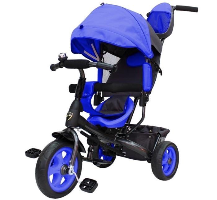 Велосипед трехколесный R-Toys Galaxy Лучик VivatGalaxy Лучик VivatВелосипед трехколесный R-Toys Galaxy Лучик Vivat находка для заботливого родителя! Он совмещает в себе как функции коляски, так и первого обучающего транспорта.   Особенности: Металлическая рама Колеса из EVA Двойная телескопическая ручка толкатель Звонок на руле Складные подставки для ног Складной тент колясочного типа с фиксаторами трех положений Сиденье с регулировкой вперед-назад - три положения Улучшенная мягкая наклонная спинка Мягкий вкладыш-«кенгуру» на сидении Раздвижная дуга безопасности с мягкими подлокотниками Багажная корзина с жестким дном Габариты:  длина 111 см,  ширина 50 см,  высота род. ручки 98/101 см,  высота от пола до сиденья 33 см,  высота до руля 55 см  размер коробки 70х26.5х43 см<br>