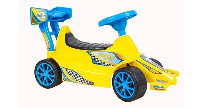 Каталки R-Toys Гоночный Спорткар Super Sport 1 аксессуары для велосипедов и самокатов r toys клаксон пневматический