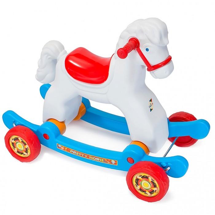 Купить Качалки-игрушки, Качалка R-Toys Лошадка на колесах