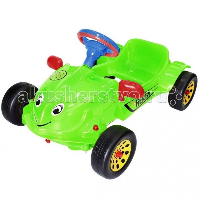 R-Toys Машина педальная Herbi с музыкальным рулем