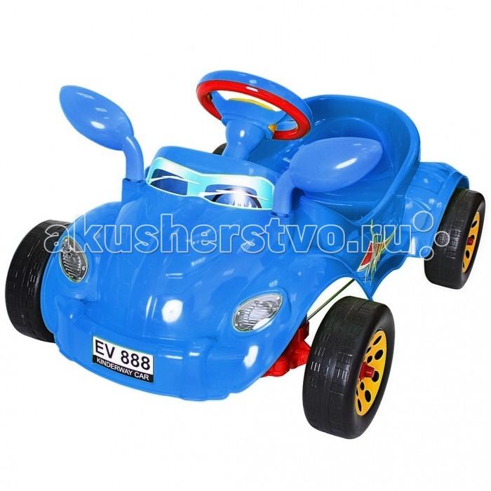 R-Toys Машина педальная Молния с музыкальным рулем