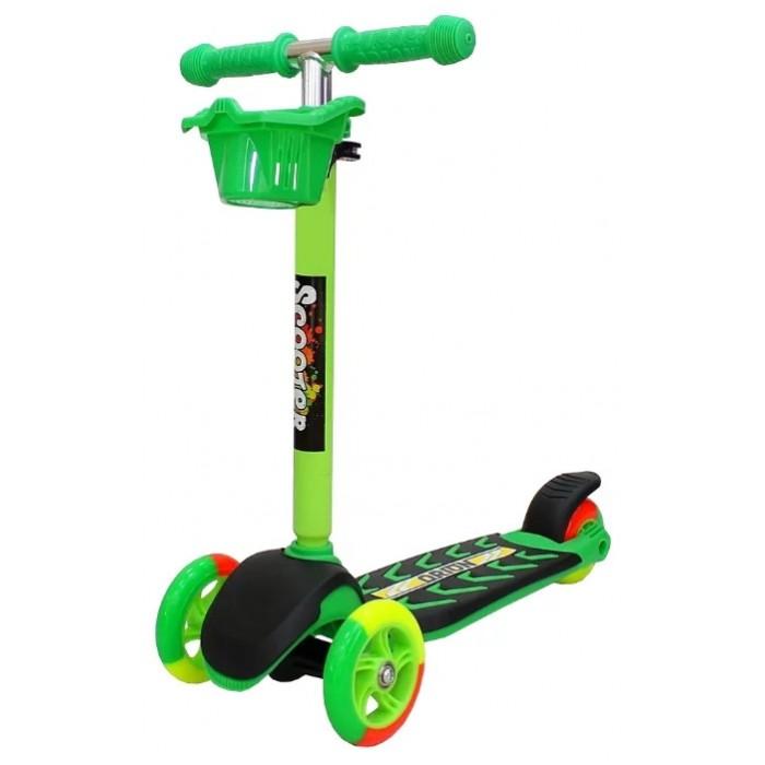 Детский транспорт , Трехколесные самокаты R-Toys Midi Orion 164в5 арт: 325969 -  Трехколесные самокаты