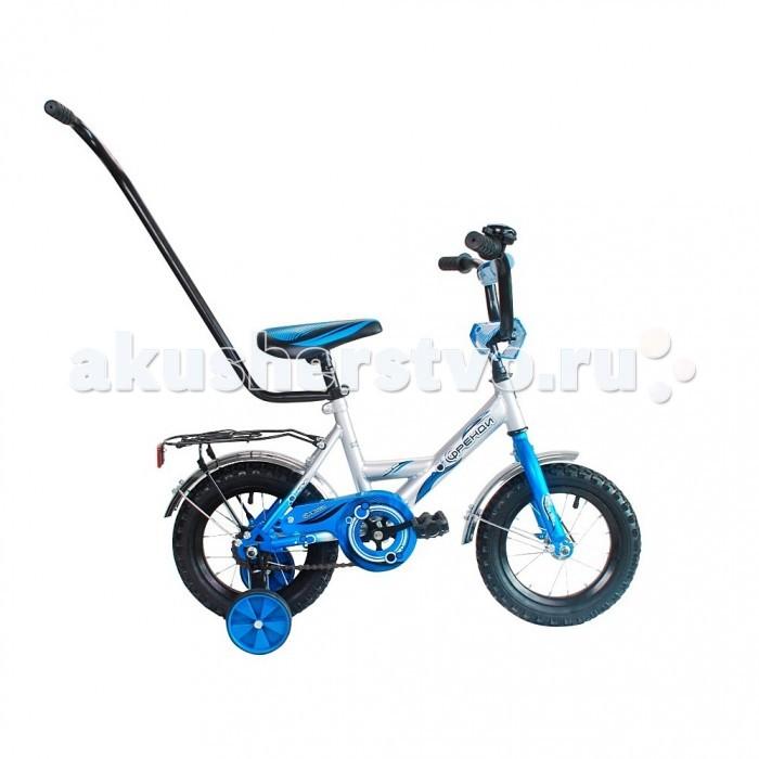 Велосипед двухколесный R-Toys Мультяшка Френди 12Мультяшка Френди 12Велосипед двухколесный R-Toys Мультяшка Френди 12 отличается неповторимым дизайном и высокотехнологичной покраской рамы.   Особенности: Классический велосипед 12 с Родительской ручкой, отвечающий высоким стандартам качества идеально подойдет для детей от 2-3 лет.  Дизайн в точности повторяет классическую модель советских времен, но выполненный по самым современным технологиям.  Все продумано до мелочей: удобная заниженная рама, позволяющая ребенку легко садиться и спрыгивать с велосипеда.  Удобное сиденье.  Эргономика - 10 баллов.  Все модели сделаны специально для российских покупателей, которые ценят классические стальные багажники, на которых можно катать друзей, высокий руль, хромированные крылья.  Высокий регулируемый руль и эргономичное сиденье обеспечивают комфортную посадку на велосипеде.  Руль регулируется как по высоте, так и по углу наклона.  Диаметр колес: 12.  Рама: сталь.  Родительская ручка с держателем из мягкой резины.  Вилка передняя: сталь жесткая. Втулка передняя: SHUNFENG.  Втулка задняя: SHUNFENG Тормоза: задний, ножной.  Покрышки: HONGDA 12х2,125. Крылья: сталь хромированного цвета.  Педали: пластик.  Широкое седло.  Багажник: сталь.  Количество скоростей: 1.  Рулевая колонка: сталь.  Обода: сталь.  Стальная защита цепи.   Очень надежные тренировочные боковые колеса.  Высокий эргономичный руль с высококачественным выносом руля.  Задний светоотражатель - на багажнике.  Все велосипеды проходят неоднократную проверку качества в процессе изготовления и заводской сборке, поэтому при соблюдении всех правил эксплуатации и обслуживания, велосипед прослужит Вам длительный срок. В комплекте: дополнительные колеса, звонок, инструмент для сборки велосипеда.<br>