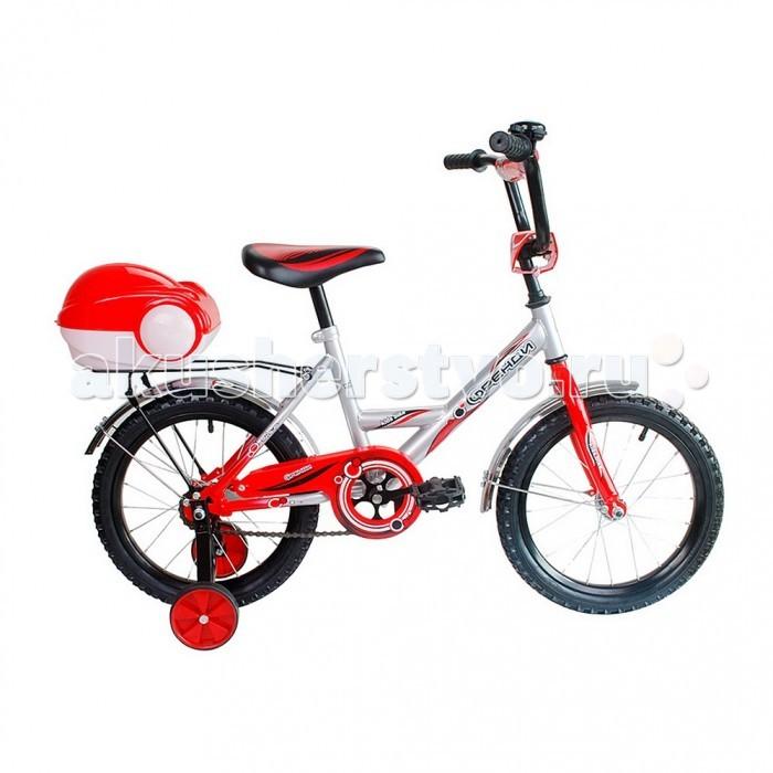 Велосипед двухколесный R-Toys Мультяшка Френди 16Мультяшка Френди 16Велосипед двухколесный R-Toys Мультяшка Френди 16 отличается неповторимым дизайном и высокотехнологичной покраской рамы.   Особенности: Классический велосипед 16 с Родительской ручкой, отвечающий высоким стандартам качества идеально подойдет для детей от 4-5 лет.  Дизайн в точности повторяет классическую модель советских времен, но выполненный по самым современным технологиям.  Все продумано до мелочей: удобная заниженная рама, позволяющая ребенку легко садиться и спрыгивать с велосипеда.  Удобное сиденье.  Эргономика - 10 баллов.  Все модели сделаны специально для российских покупателей, которые ценят классические стальные багажники, на которых можно катать друзей, высокий руль, хромированные крылья.  Высокий регулируемый руль и эргономичное сиденье обеспечивают комфортную посадку на велосипеде.  Руль регулируется как по высоте, так и по углу наклона.  Диаметр колес: 16.  Рама: сталь.  Родительская ручка с держателем из мягкой резины.  Вилка передняя: сталь жесткая. Втулка передняя: SHUNFENG.  Втулка задняя: SHUNFENG Тормоза: задний, ножной.  Покрышки: HONGDA 16х2,125.. Крылья: сталь хромированного цвета.  Педали: пластик.  Широкое седло.  Багажник: сталь.  Количество скоростей: 1.  Рулевая колонка: сталь.  Обода: сталь.  Стальная защита цепи.   Очень надежные тренировочные боковые колеса.  Высокий эргономичный руль с высококачественным выносом руля.  Задний светоотражатель - на багажнике.  Все велосипеды проходят неоднократную проверку качества в процессе изготовления и заводской сборке, поэтому при соблюдении всех правил эксплуатации и обслуживания, велосипед прослужит Вам длительный срок.  В комплекте: дополнительные колеса, звонок, инструмент для сборки велосипеда.<br>