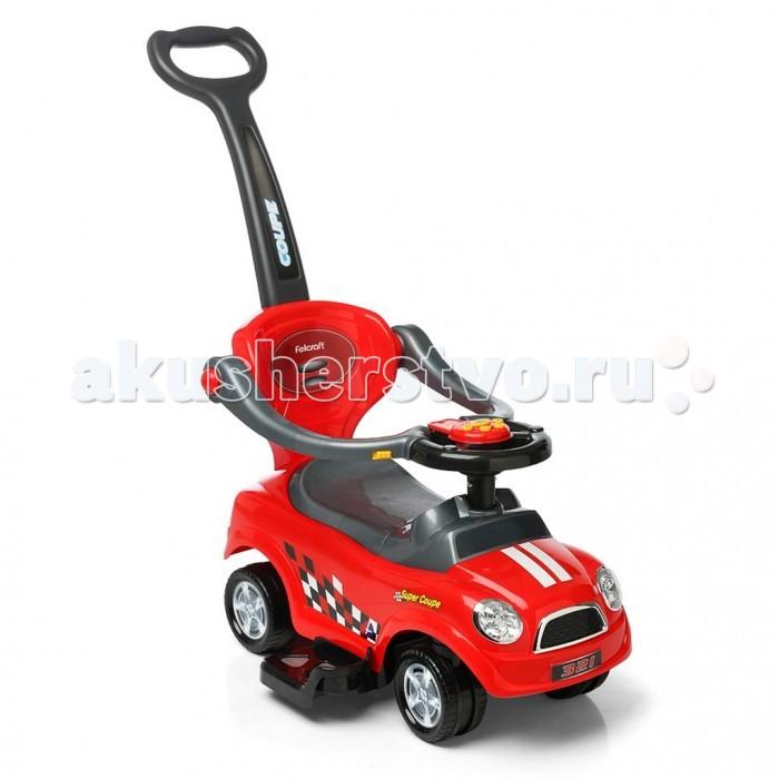Каталка R-Toys Quick Coupe 3 в 1 с ручкой